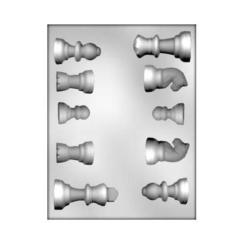 CHESS PIECES Chocolate Mould