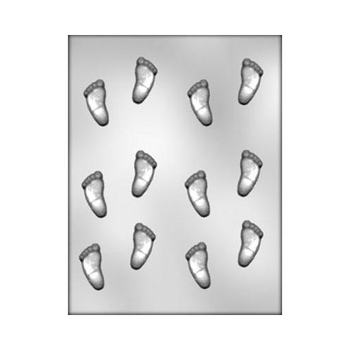 BABY FOOTPRINTS Chocolate Mould