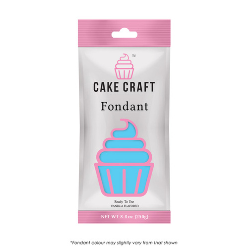 Cake Craft SKY BLUE Fondant 250g