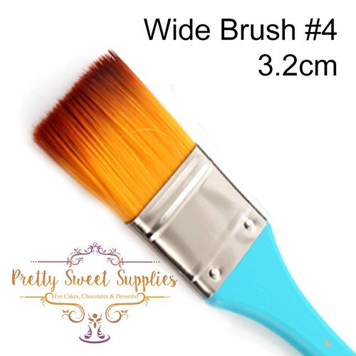 WIDE FLAT Paintbrush Size #4