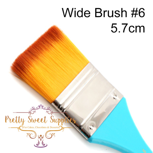WIDE FLAT Paintbrush Size #6