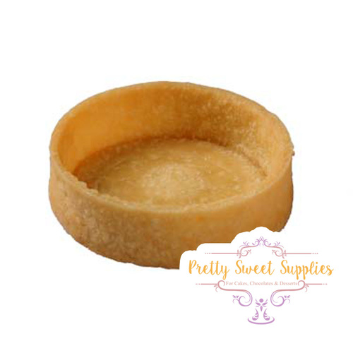 GLUTEN-FREE ROUND Medium SWEET Tart Shells 5.5cm - 20pc