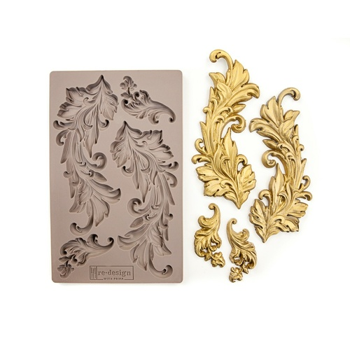 BAROQUE SWIRLS - Vintage Art Décor Mould