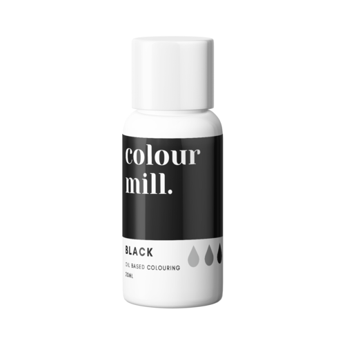 BLACK Oil Based Colour 20ml