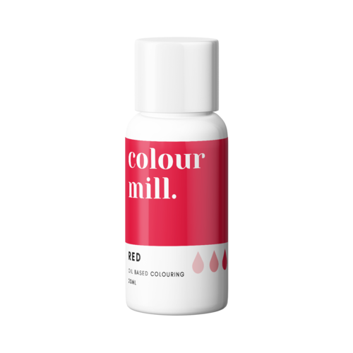 RED Oil Based Colour 20ml