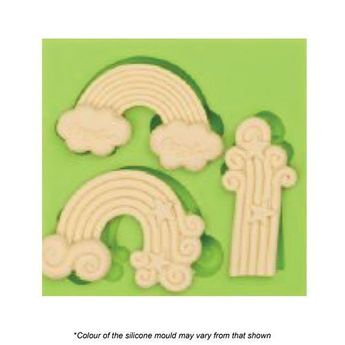 ASSORTED RAINBOWS Silicone Mould