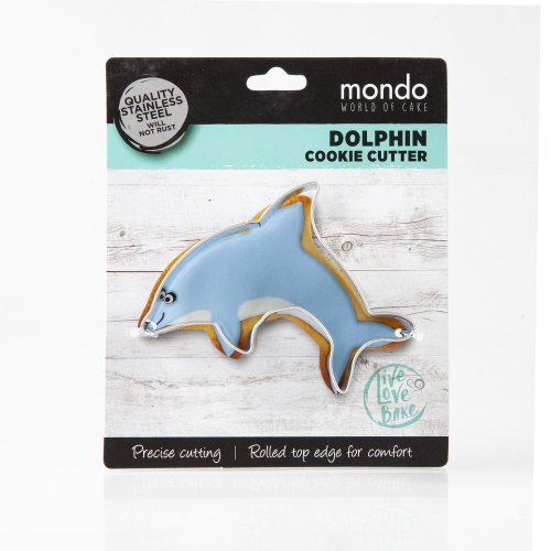 "DOLPHIN 3.8"" Cookie Cutter"