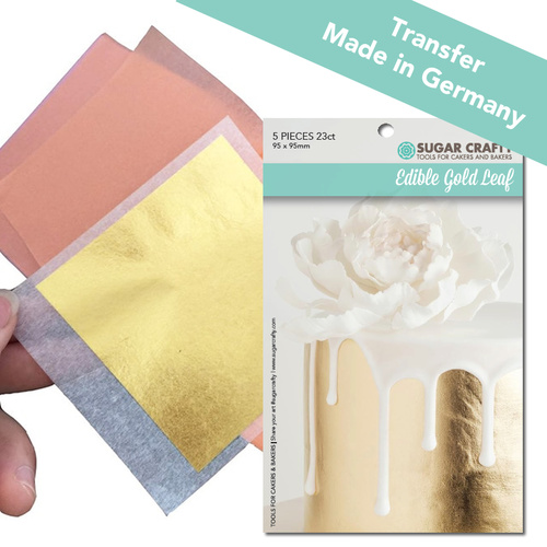 Edible 23k Gold Leaf - Transfer Sheets (5 pack)